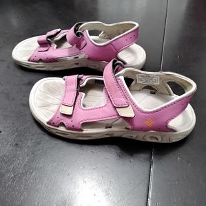 GIRL'S COLUMBIA TECHSUN VENT KIDS SANDALS  Size 13